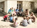 """Die Sommerferienbetreuung 2015 hatte das Motto """"Über Wasser - unter Wasser."""""""