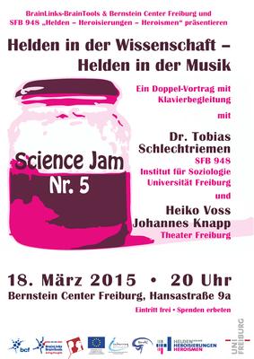 Science Jam Nr. 5 |Helden in der Wissenschaft - Helden in der Musik