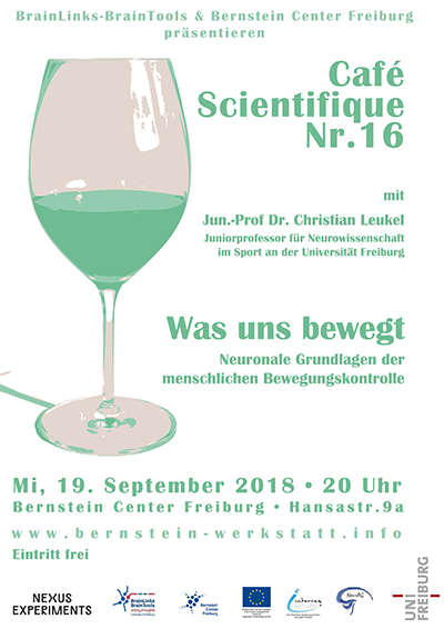Cafe Scientifique Nr. 16 - Was uns bewegt