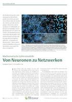 """Biologie in unserer Zeit"" publishes article on Computational Neuroscience"