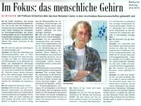 """""""Badische Zeitung"""" interviews BCF director Ad Aertsen"""