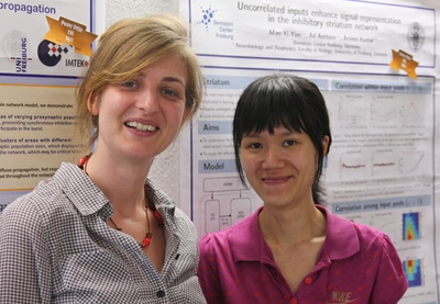 BCF PhD students receive CNS poster prizes