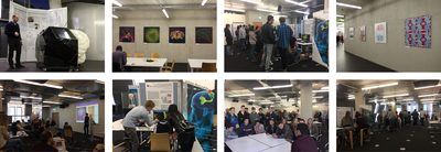 """Looking back at Brain Awareness Week 2017: """"Showcase for Neuroscience in Freiburg"""" at Freiburg's University Library experiences great public interest"""