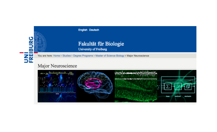 M.Sc. Biology | Major Neuroscience